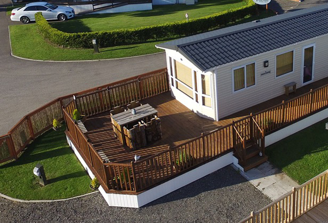 Comment quiper son mobil home les indispensables for Isoler une terrasse
