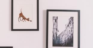 5 idées de cadres photo pour la décoration