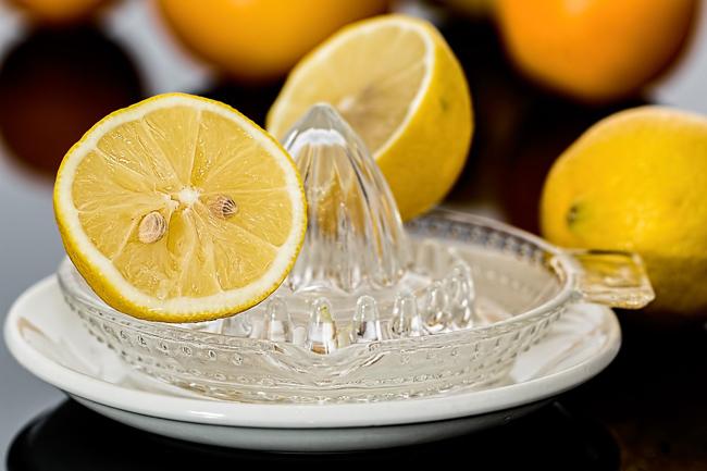 citron contre le calcaire