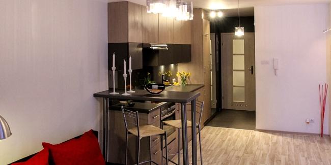 kitchenette 5 id es d 39 am nagement pratique d 39 une petite. Black Bedroom Furniture Sets. Home Design Ideas