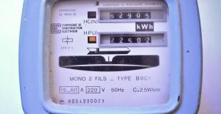 Changer un compteur électrique d'EDF