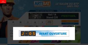 Artibat 2018 : salon de la construction à Rennes (Bruz -35)