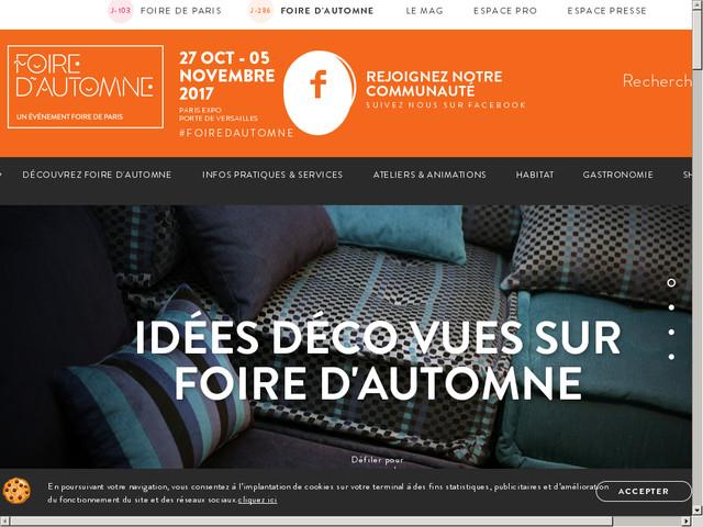 Foire d 39 automne 2016 foire de paris invitation gratuite t l charger - Foire d automne 2017 invitation gratuite ...